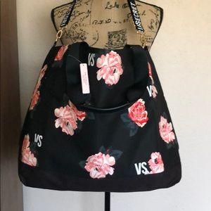 Victoria's Secret Floral Tote Bag ~ BNWT